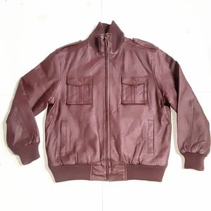 Tanners Avenue Genuine Leather Men's Jacket Size L